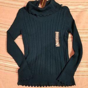 Turtle neck Jeanne Pierre knit sweater